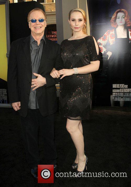 Danny Elfman, Mali Elfman 'Dark Shadows' premiere at...