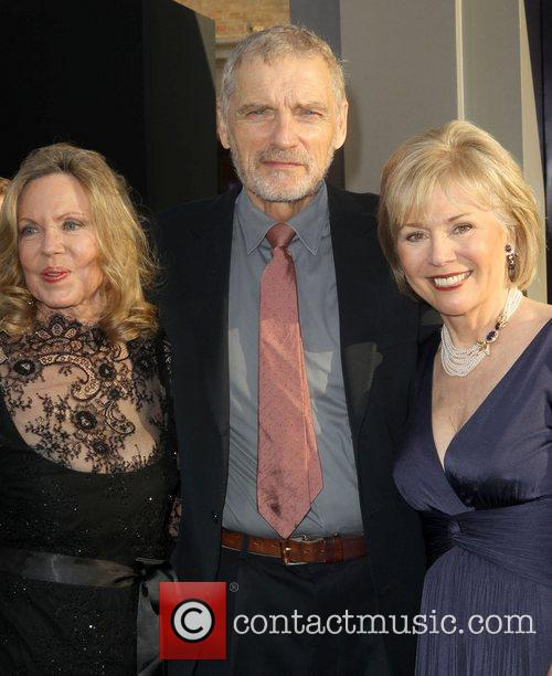 Kathryn Leigh Scott, David Selby, Scott David and Grauman's Chinese Theatre