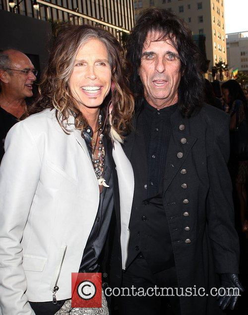 Steven Tyler, Alice Cooper and Grauman's Chinese Theatre 5