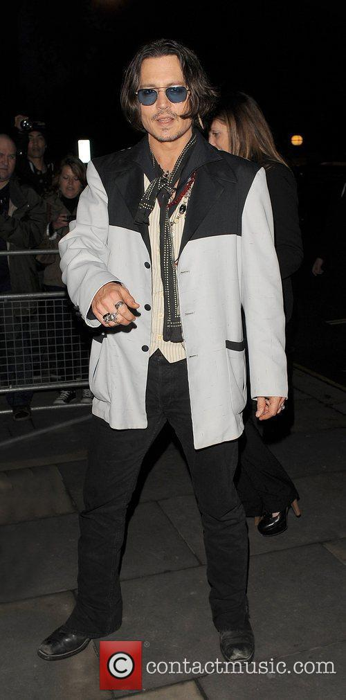 johnny depp dark shadows afterparty held at 3870819