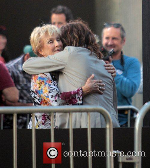 Cloris Leachman, Steven Tyler and Grauman's Chinese Theatre 2