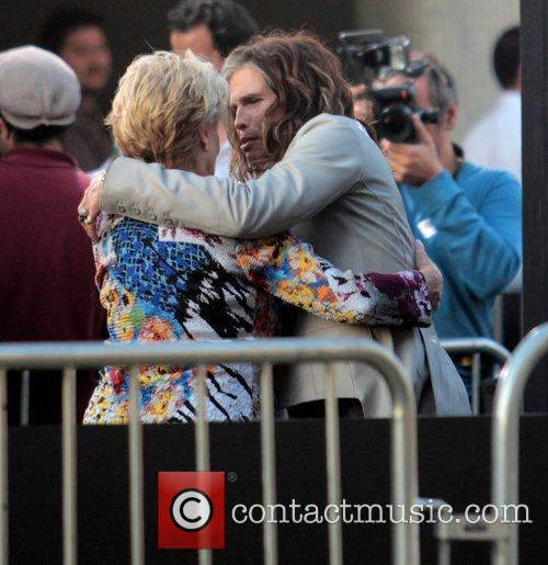 Cloris Leachman, Steven Tyler and Grauman's Chinese Theatre 1