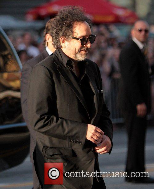 Tim Burton and Grauman's Chinese Theatre 2