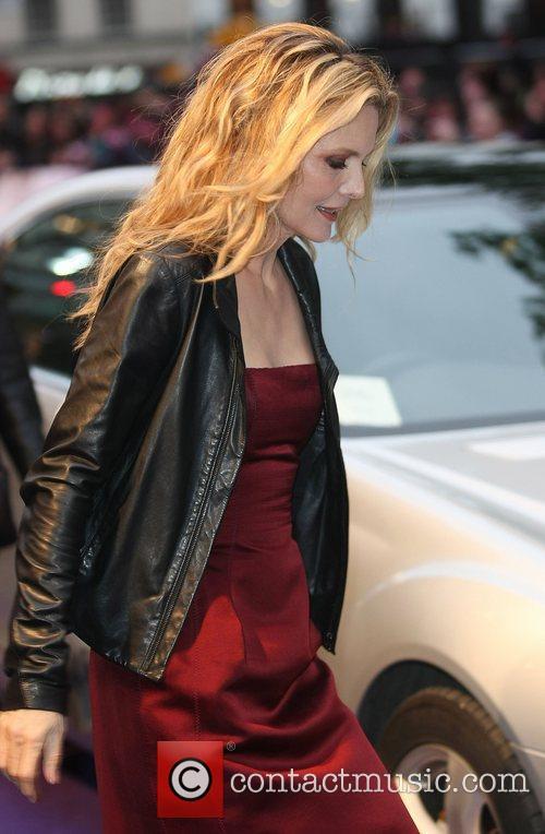 Michelle Pfeiffer UK premiere of 'Dark Shadows' at...