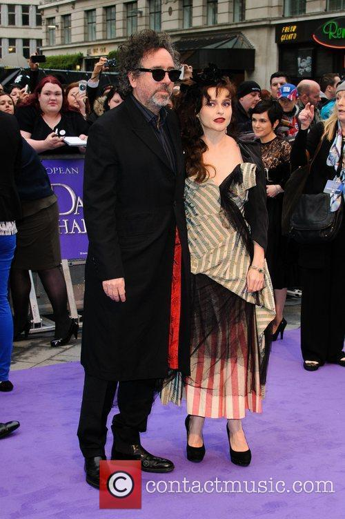 Tim Burton, Helena Bonham Carter and Empire Cinema 3
