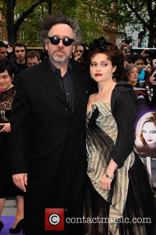 Tim Burton, Helena Bonham Carter and Empire Cinema 4
