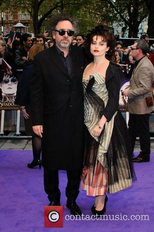 Tim Burton, Helena Bonham Carter and Empire Cinema 5