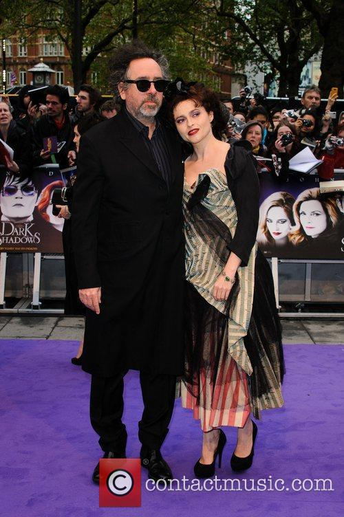 Tim Burton, Helena Bonham Carter and Empire Cinema 6