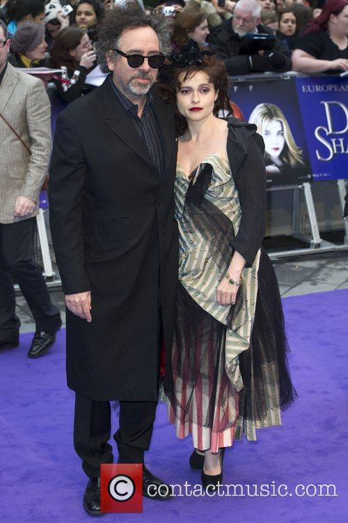 Tim Burton, Helena Bonham Carter and Empire Cinema 7