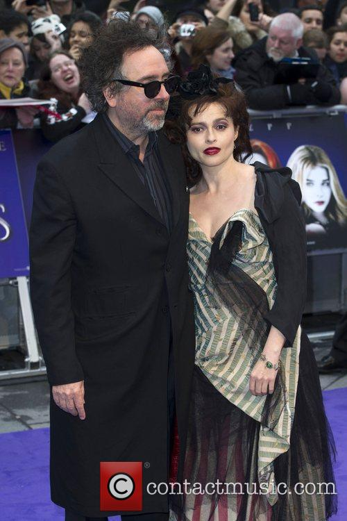Tim Burton, Helena Bonham Carter, Empire Cinema