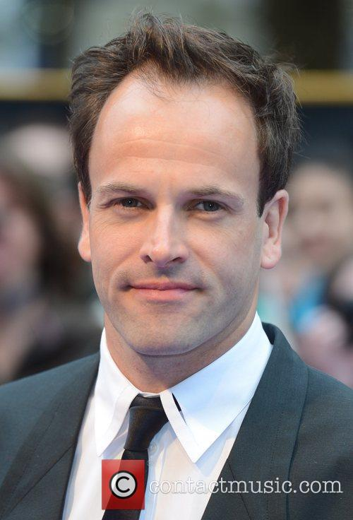 Johnny Lee Miller at the premiere of Dark...