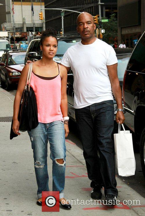 David Alan Grier out and about in a...