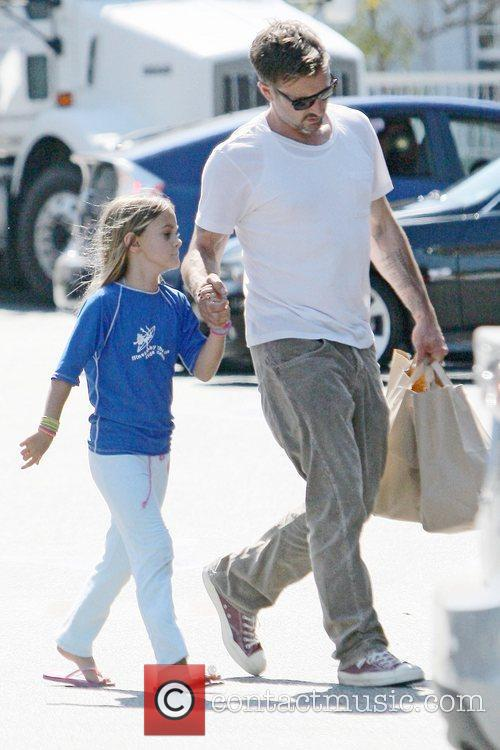 Shopping with his daughter Coco in Beverly Hills