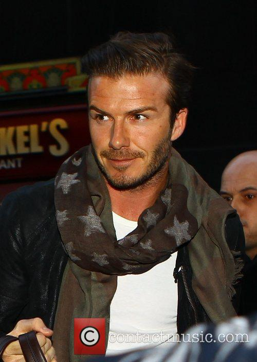 david beckham arrives at the hampm store 3710687