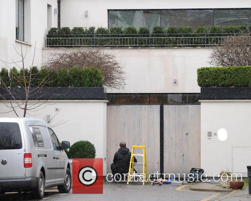 David Beckham House Security is increased on the...