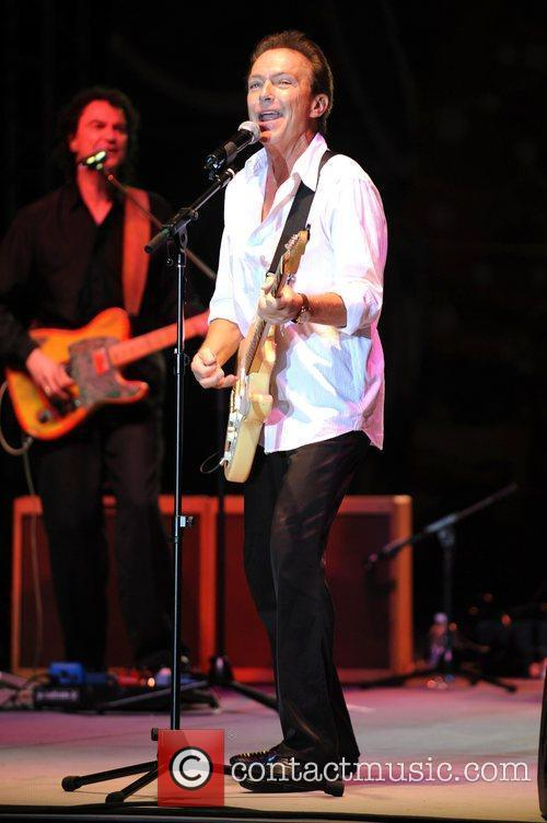 David Cassidy performs at the Magic City Casino
