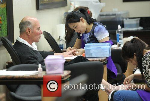 david geffen gets his nails and feet 4169586