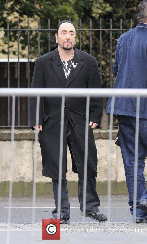 david gest arrives at filming for hotel 5924117