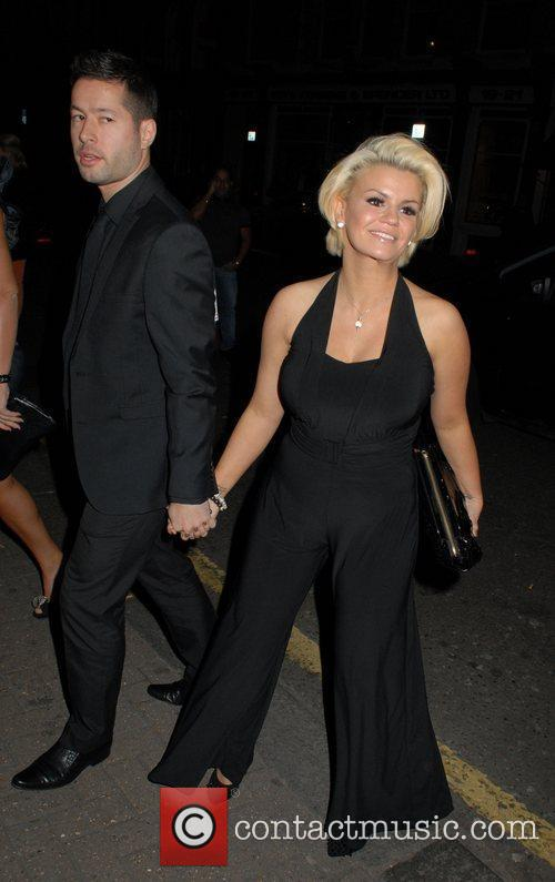 Kerry Katona and Steve Alce David Gest and...