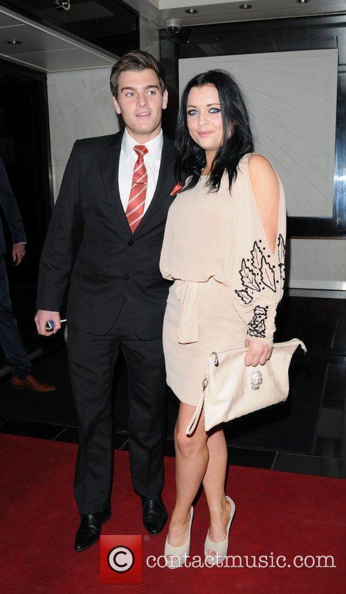 Shona McGarty and Matt Lapinskas  David Gest...