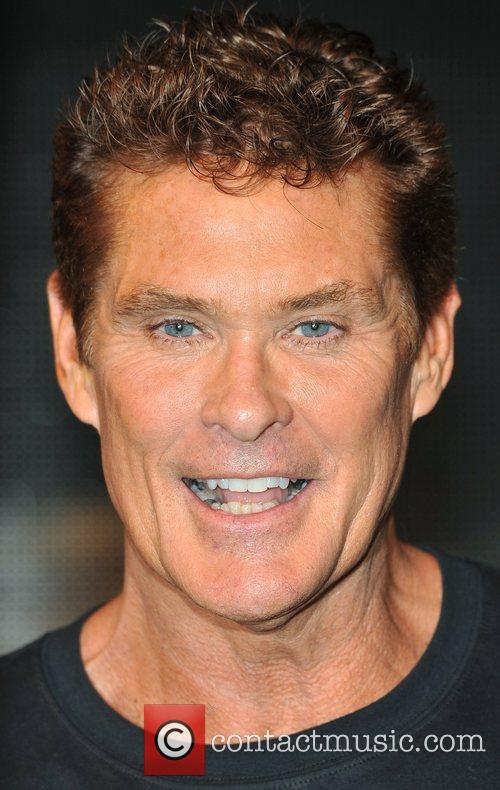 David Hasselhoff and Hmv Oxford Street 11