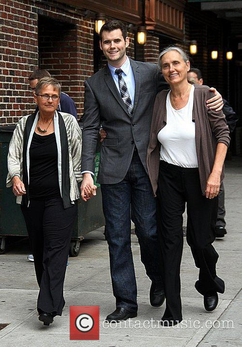 Zach Wahls and his two moms Terry Wahls...