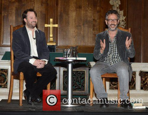 David Mitchell and David Baddiel 4