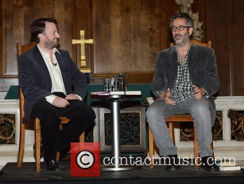 David Mitchell and David Baddiel 2