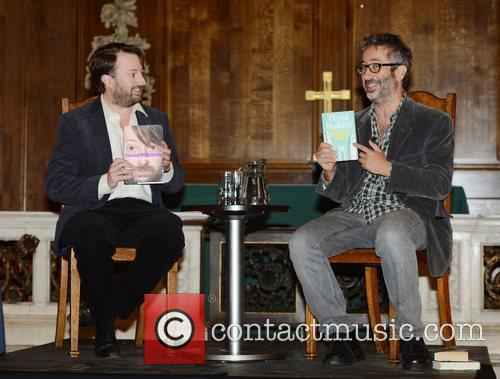 David Mitchell and David Baddiel 1