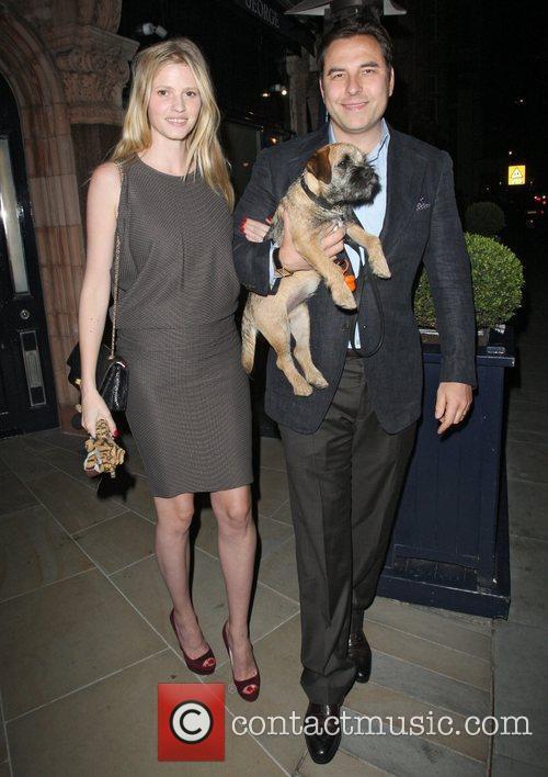 David Walliams and Lara Stone 6