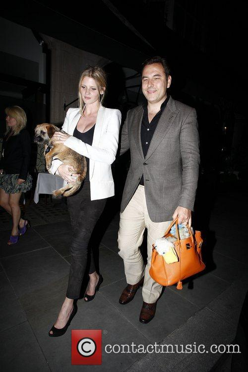 David Walliams and Lara Stone 9