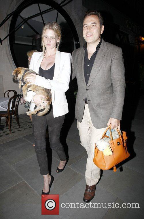 David Walliams and Lara Stone 11