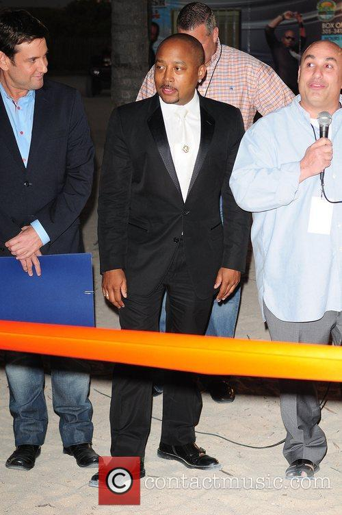 Daymond John attends the Ribbon Cutting Ceremony at...