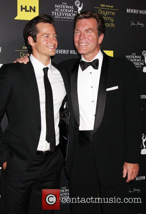Blake Hood, Peter Bergman 39th Daytime Emmy Awards...