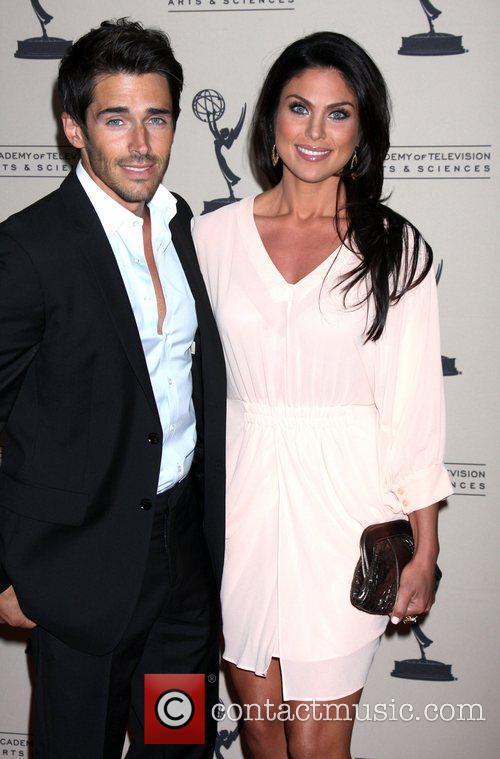 Brandon Beemer and Nadia Bjorlin ATAS Daytime Emmy...