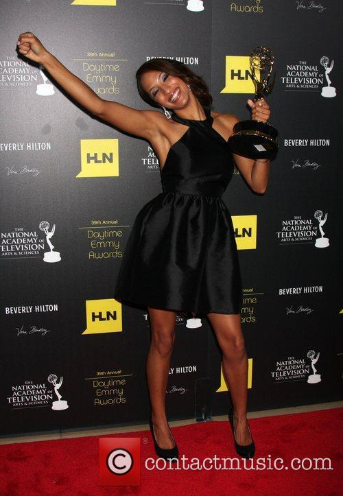 christel khalil 39th daytime emmy awards press 3960861
