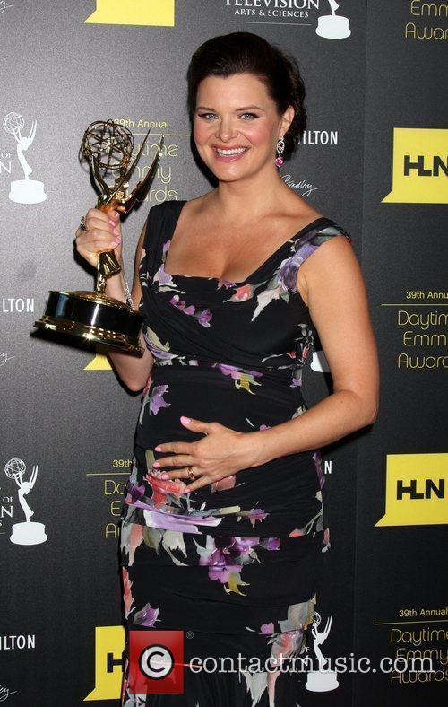Heather Tom 39th Daytime Emmy Awards - Press...