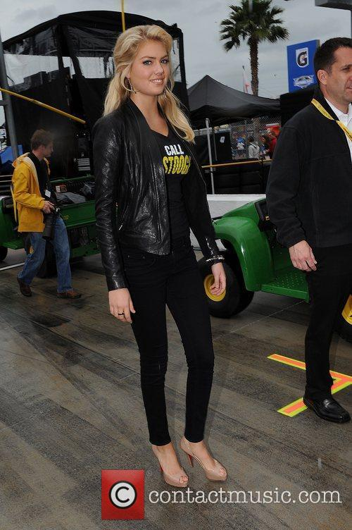 Kate Upton  Celebrities appear at the Daytona...