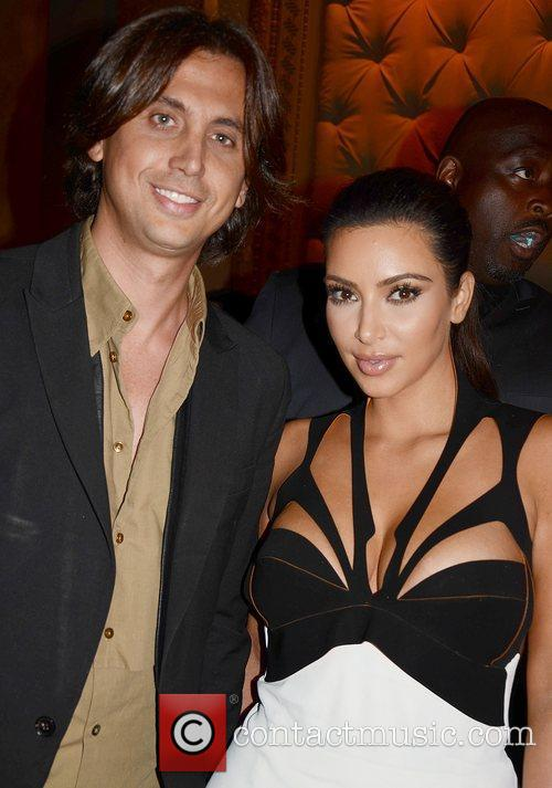 jason binn and kim kardashian at the 4061522