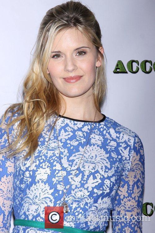 Maggie Grace, Dead Accounts, Music Box Theatre and Arrivals. New York City 1
