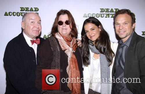 Katie Holmes, Jack Obrien, Theresa Rebeck and Norbert Leo Butz 4