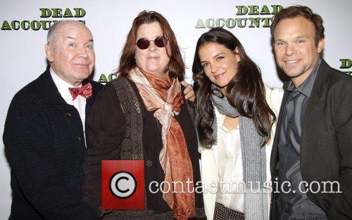 Jack O, Brien, Theresa Rebeck, Katie Holmes and Norbert Leo Butz 2