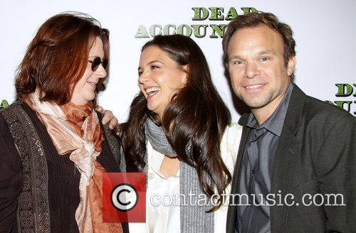 theresa rebeck katie holmes and norbert leo 5931652