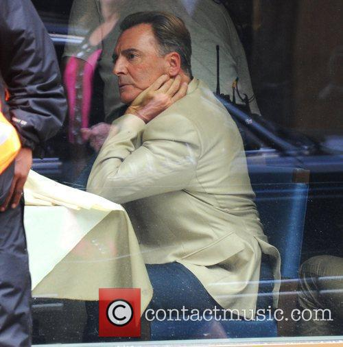 armand assante on the set of dead 3861840