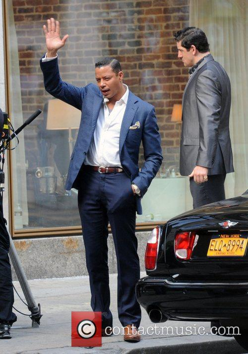 terrence howard on the set of dead 3861836