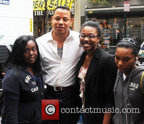 terrence howard on the set of dead 3861847