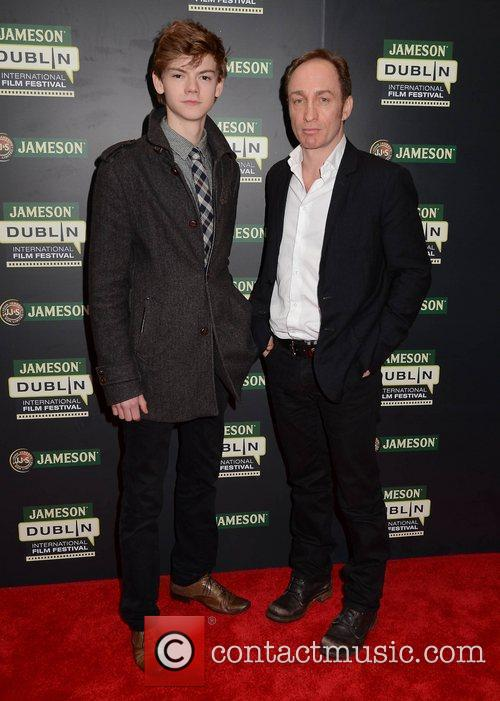 Thomas Sangster, Michael Mcelhatton and Dublin International Film Festival 2