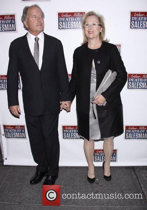 Don Gummer and Meryl Streep  Broadway opening...