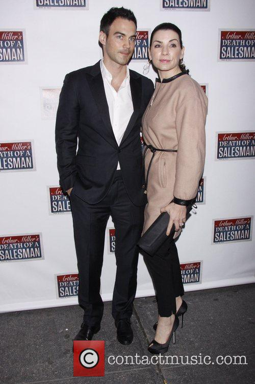 Keith Lieberthal and Julianna Margulies  Broadway opening...