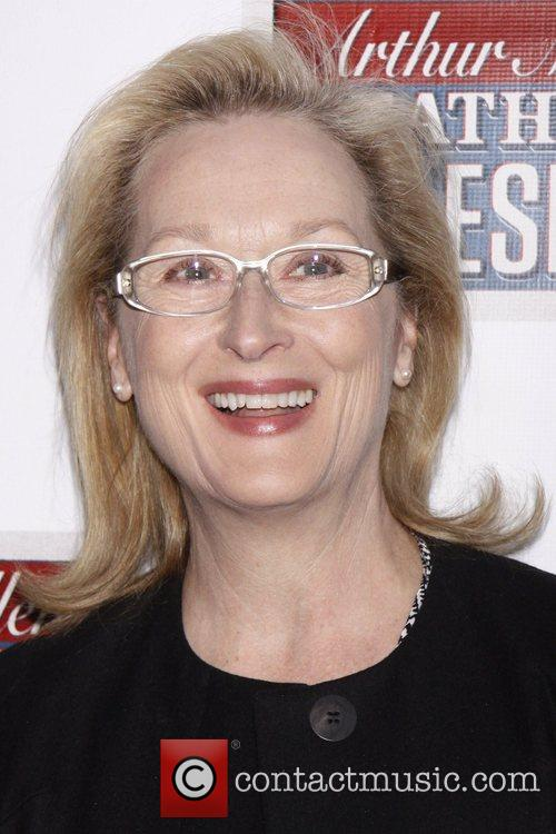 Meryl Streep  Broadway opening night of 'Death...
